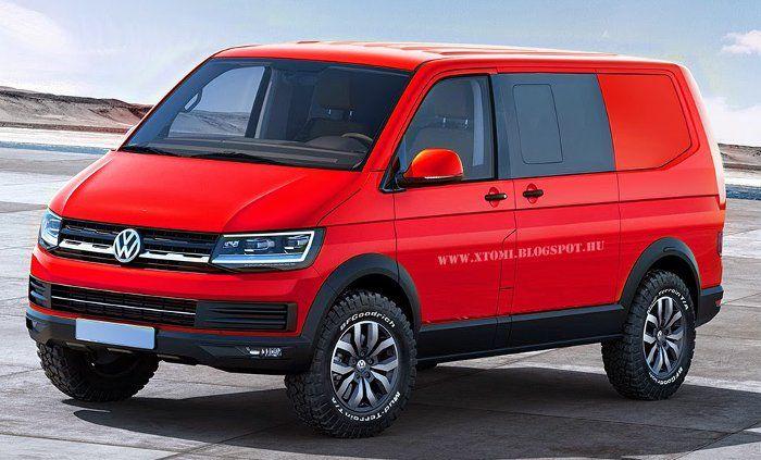 Интерьер нового Volkswagen T6 2015 Multivan (Transporter