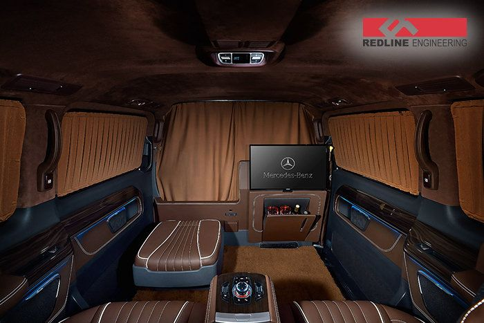 mercedes v class 2017 tuning 7