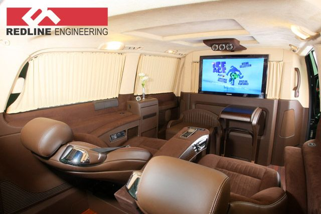 Mercedes Viano tuning VIP9